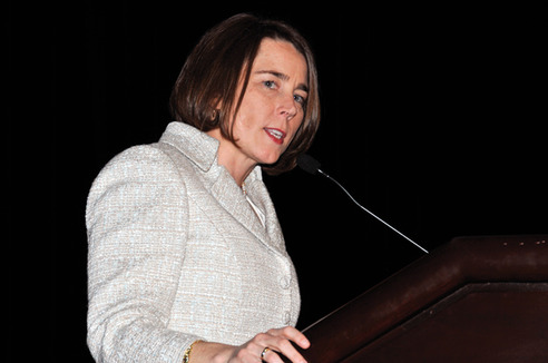 AG Bureau Chief Maura Healey honored